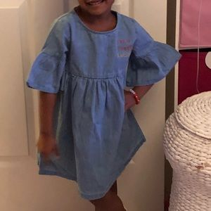 Jean Dress Made Simple - Size 4T